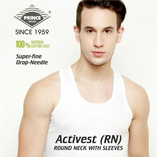 Mens Cotton Vest PRINCE Activest (RN)