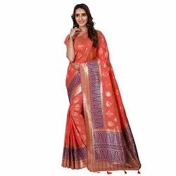 1518 Jacquard Silk Saree