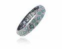 Emerald Gemstone Diamond Bracelet