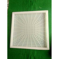 Chequered Tile Silicone Mould