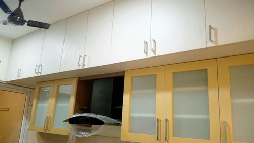 Yellow Colour Kitchen Design Ideas In Koyambedu Chennai Aamphaa