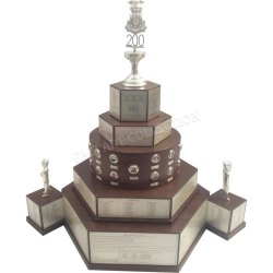 1027 Wooden Trophy