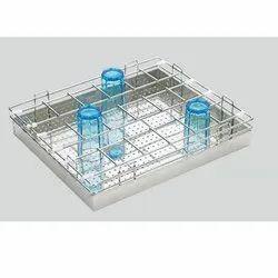 SS Kitchen Glass Basket