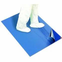 Blue Plastic Sticky Mat