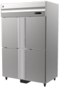 Steel Direct Cool 4 Door Static Freezer - Hoshizaki Hfsw 126, Capacity: 988 Litre