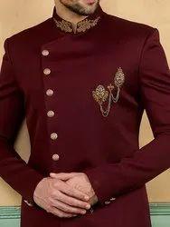 2-Piece Suit Velvet Jodhpuri Men Suits