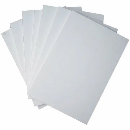 White Plain PVC Sheet, Thickness: 4-10mm