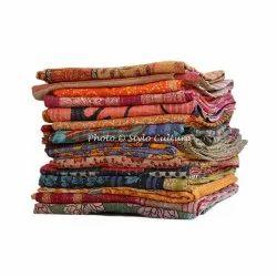 Vintage Sari Throw