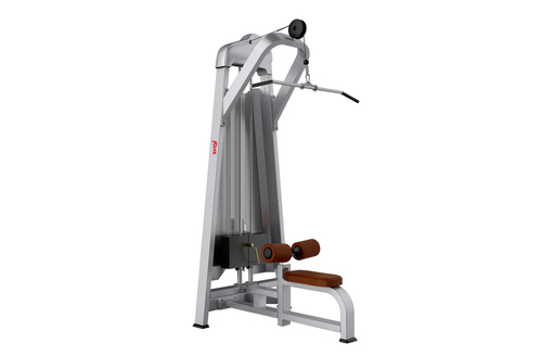 Metro Fitness Powder Coating Lat Pull Machine, For Gym, For Back Exercise