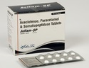 Aceclofenac 100 Mg Paracetamol 325 Mg Serratiopeptidase 15 Mg Tablets