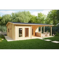 PVC Modular House With Terrace Holiday B