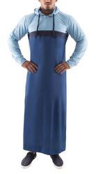 Dry Fitter Sky Blue And Royal Blue Mens Thobe