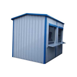 Portable FRP Security Cabin