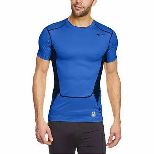 Half Sleeves Nike Men's Sports T Shirt