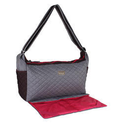 cee97db08a Grey Kuttu Tetron Diaper Bag With Mat