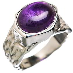 Amethys 925 Sterling Silver Ring