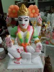 White Modern Soft Stone Handicraft, Size: 8 Inch