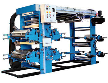 Automatic 4 Colour Flexographic Printing Machine
