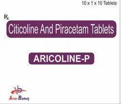 Citicoline And Piracetam Tablets