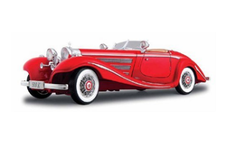 Maisto 1:18 1936 Mercedes Benz 500K Roadster
