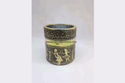 Gold Oxidised Pen Stand