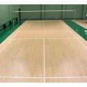 Badminton Court Wooden Flooring Services