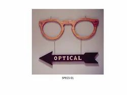 Optical Eyewear Brandings & Posters