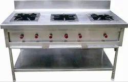 Three Burner LPG Gas Range