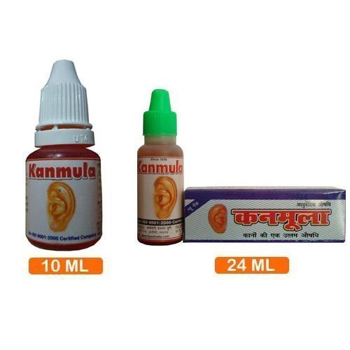 Kanmula Herbal Ear Drops, Packaging Type: Plastic Bottel, for Clinical,Personal