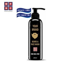 OEM or Private Label Beard and Face Wash