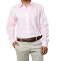 Mens Plain Pink Shirt