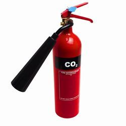 Carbon Steel CO2 Type 4.5 Kg Fire Extinguisher (ISI marked), For Industrial