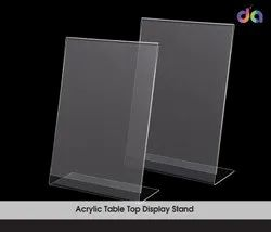 Transparent Acrylic Display Stand, For Advertising