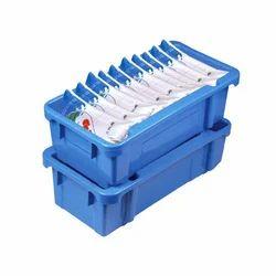 Plastic Dairy Milk Crates
