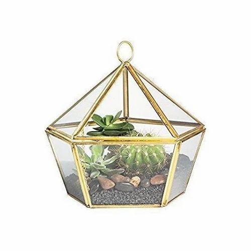 Round Hanging Brass Terrarium Pots At Rs 280 Piece Terrariums