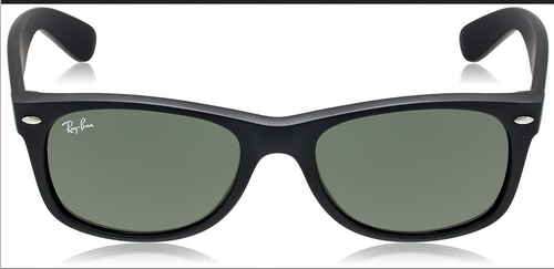 6c50743956 Green Lens With Matte Black Frame Glass Lens With Plastic Frame Ray-Ban  Black Wayfarer