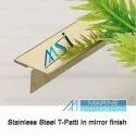 MSI Brand Stainless Steel T Beading Profile for Inlay Groove