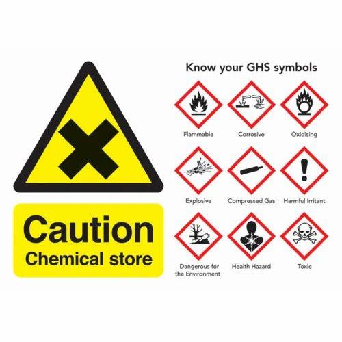 Chemical Warning Signs Warning Signs S Kumar Art Ahmedabad Id