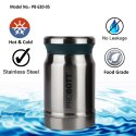 Probott Stainless Steel Double Wall Hot Pot Vacuum Jar 620ml PB 620-05