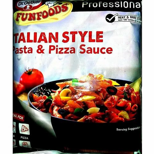 Funfoods Italian Style Pasta And Pizza Sauce Rs 135 Packet Arora Marketing Id 21330734762