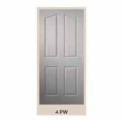 4 Panel Solid Wooden Door