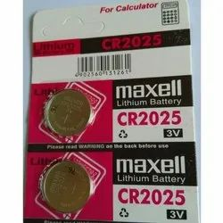 CR 2025 Button Batteries