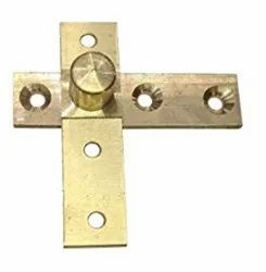 3.80inch Azekah 360 Degree Rotation Brass Pivot Hinge - Side Axis