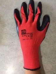 Latex Coated Hand Gloves
