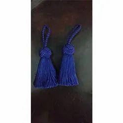 Blue Silk Tassel
