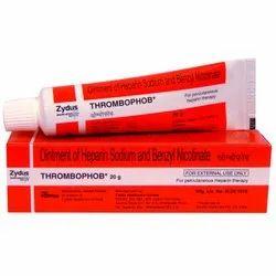 Thrombophob ( Heparin - Benzyl Nicotinate) Ointment, त्वचा का मलहम, स्किन  ऑइंटमेंट - Maxwell Enterprises, Nagpur | ID: 4585860012