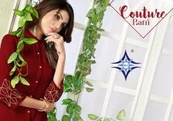 Kamli-Slc a Line Kurtis With Embroidery Work New Collection