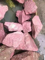 Natural Rough Thulite Gemstones