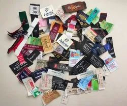 Multicolor Woven Labels