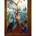 Multicolor Printed Window Glass, Thickness: 5-12mm